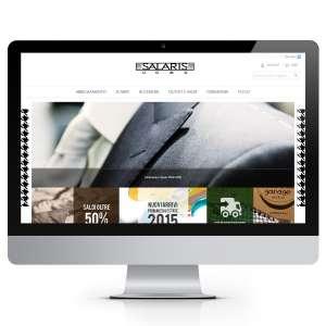 Salaris Uomo Shop E-Commerce