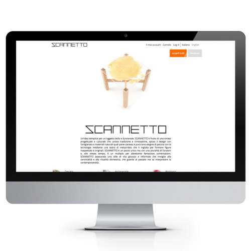 Scannetto by Elon Grafica E-Commerce